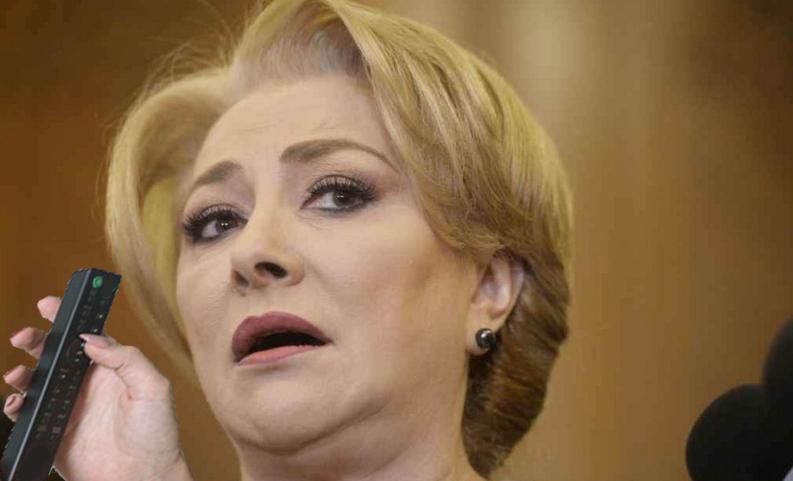 Viorica Dăncilă nu le mai răspunde colegilor de partid la telefon. Să o sune și pe telecomandă, că la aia răspunde!