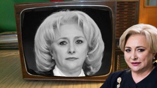 Viorica Dăncilă nu și-a luat nici până în ziua de azi televizor color! Nu a găsit pe roz, culoarea ei preferată!