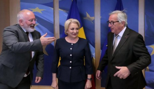 "Viorica către Juncker și Timmermans: ""Dacă vădau mintea mea, v-oia corpu'razna!"""