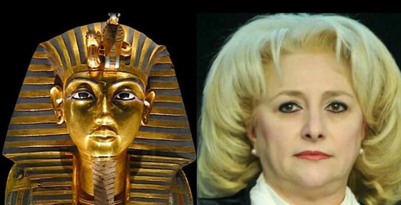 Egiptenii l-au avut pe Tutankhamon, noi o avem pe Tutancanoastră!
