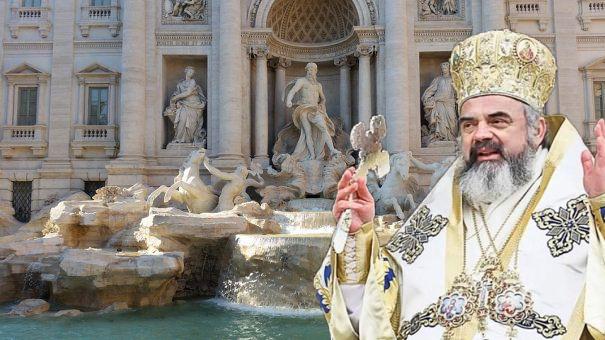 Daniel dărâmă catedrala și face fântână arteziană, după ce a aflat că în Fontana di Trevi se aruncă anual milioane de euro!