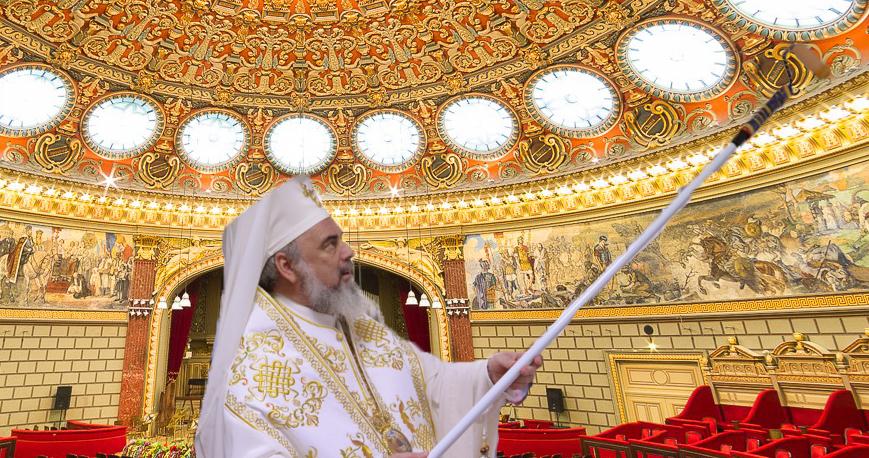 """Patriarhul Daniel sfințește Ateneul după ce Donald Tusk l-a spurcat zicând """"Dacia"""" de mai multe ori!"""