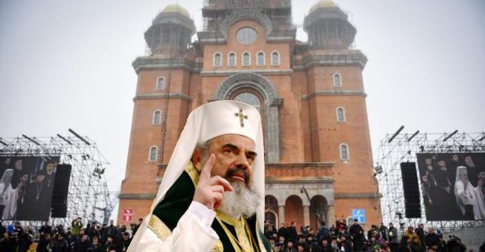 Măsuri la Catedrala Neamului: cutia milei va fi mutată lângă extinctor