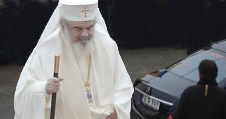 Patriarhul Daniel a intrat în Postul Negru Metalizat, 530 CP, motor V12 de 6 litri. Postul prinde 100 km/h în 5 secunde!