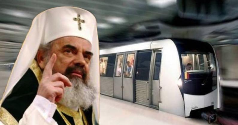 """Patriarhul Daniel: """"Stă catedrala aia neterminată şi voi inaugurați metrouri…"""""""