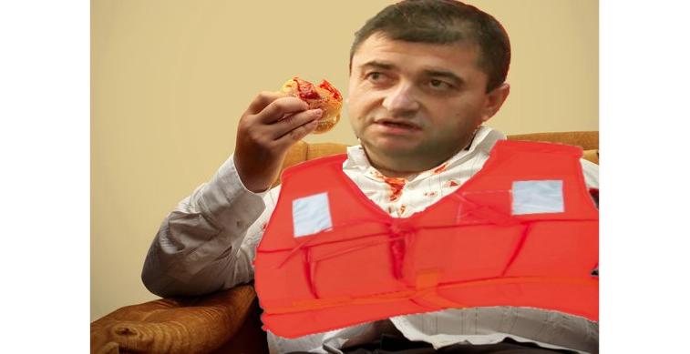 Noii miniștri sunt atât de proști încât mănâncă cu vesta de salvare pe ei, să nu se înece!