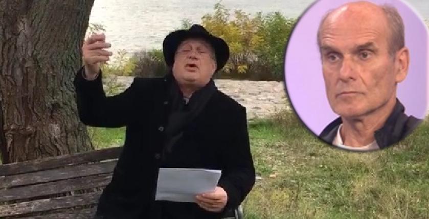 """Poetul-portofel Mircea Dinescu îl critică pe CTP: """"Când îl pupam eu în c… pe Iliescu, tu nici Dacia 1100nu aveai!"""""""