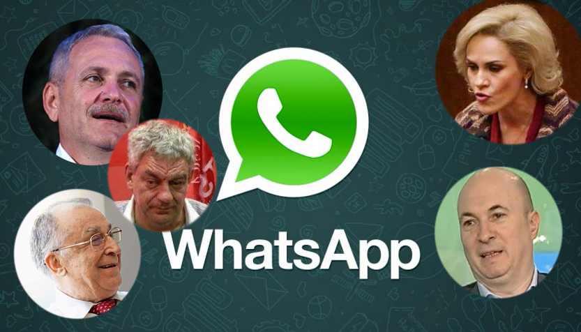 Cearta PSD-iștilot pe WhatsApp. VEZI ULTIMA STENOGRAMĂ!