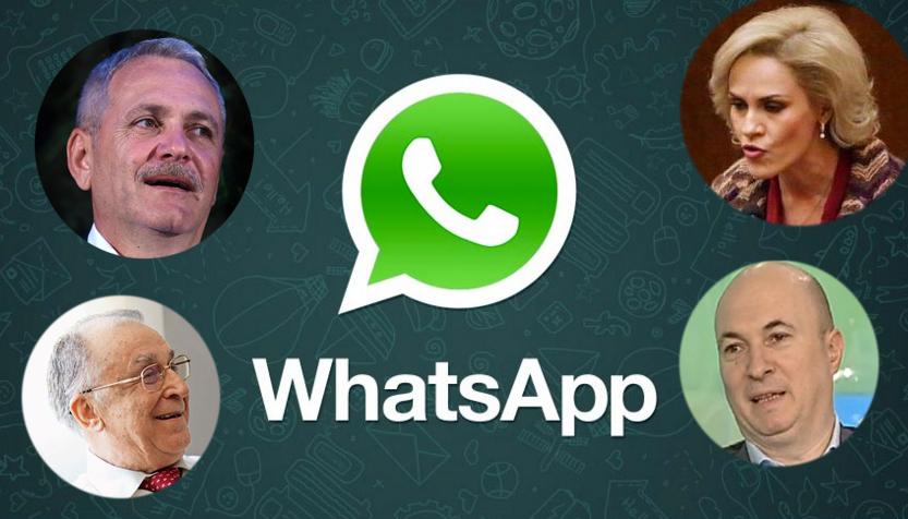 Încă o dicuție purtată de liderii PSD pe WhatsApp iese la lumină. VEZI STENOGRAMA!