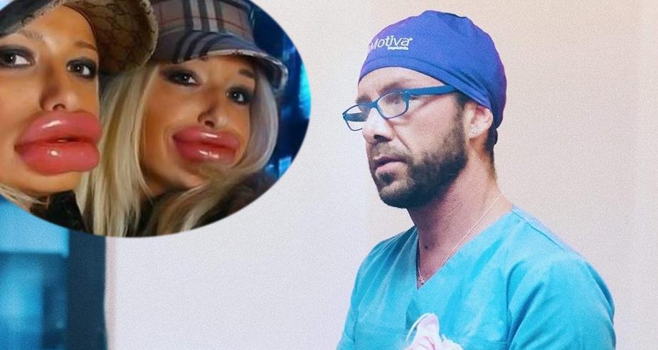 Apar tot mai multe dovezi că falsul chirurg a pus fese în loc de buze!