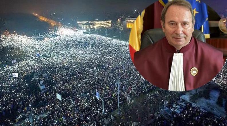 """CCR: """"Sutele de mii de protestatari au perturbat buna funcționare a hoției. Amendă!"""""""