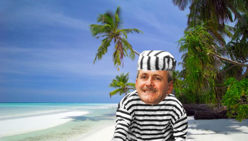 Alertă! Liviu Dragnea a cerut azil politic în Maldive!