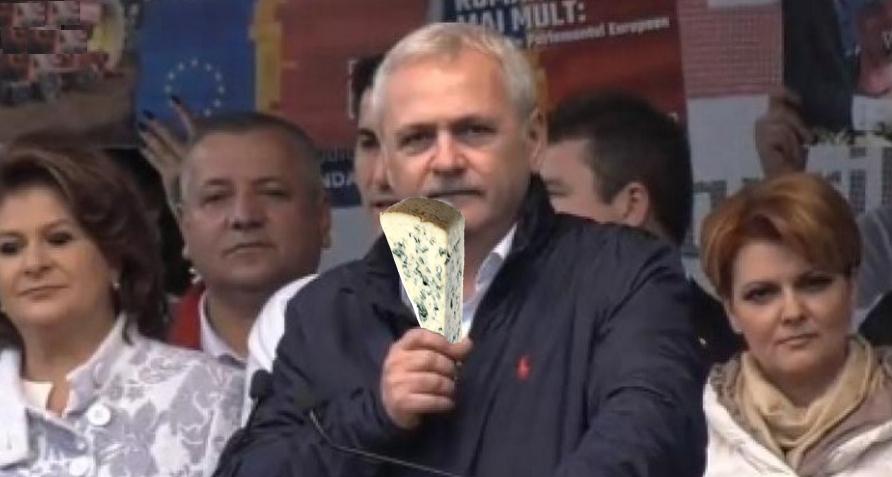 """Dragnea: """"Corporațiile străine vor să ne îmbolnăvim: ne aduc brânzămucegăitădin Franța!"""""""