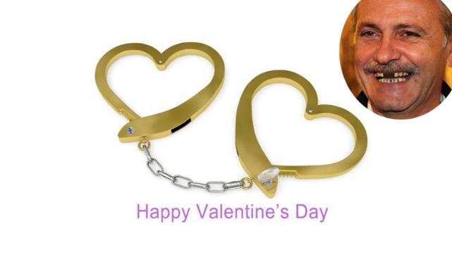 De Valentine's Day, Dragneaa primit o invitație la un duș în format restrânsde la viitorii colegi de celulă