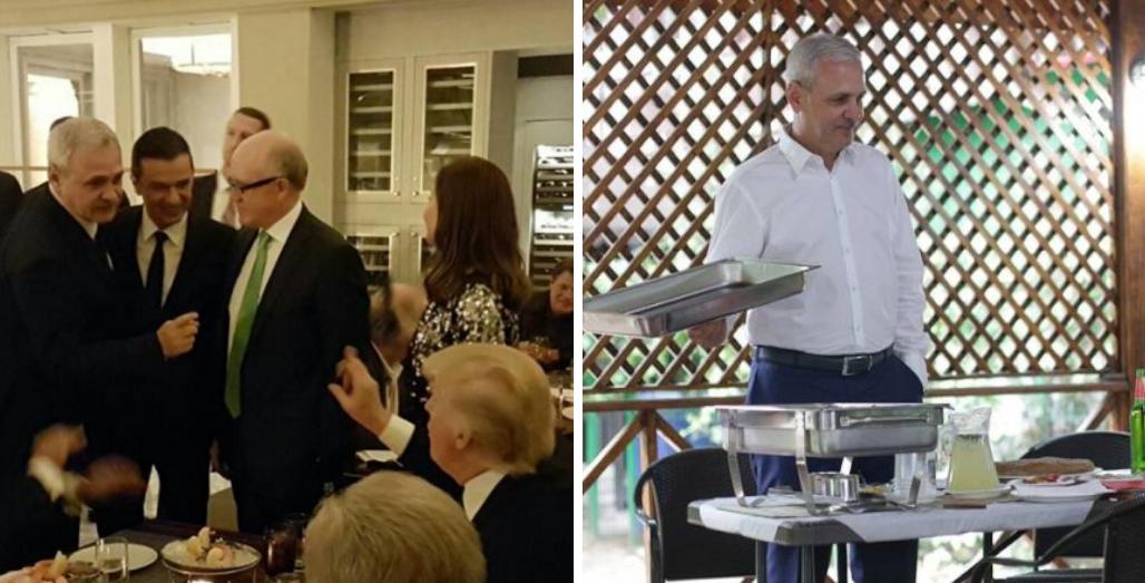 Chelnerul lui Donald Trump și-a reconfirmatclasa!