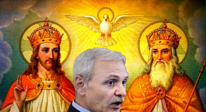 """Completul de 3 format din Tatăl, Fiul și Sfântul Duh: """"Liviule, vino să te judecăm noi!"""""""