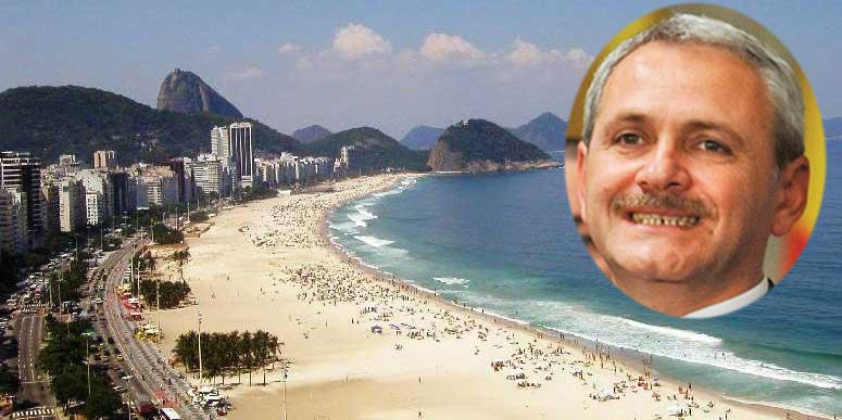 Da, orice bugetar își poate face anual concediul în Brazilia, ca Dragnea. Orice profesor, orice polițist, orice medic. Chiar și pensionarii