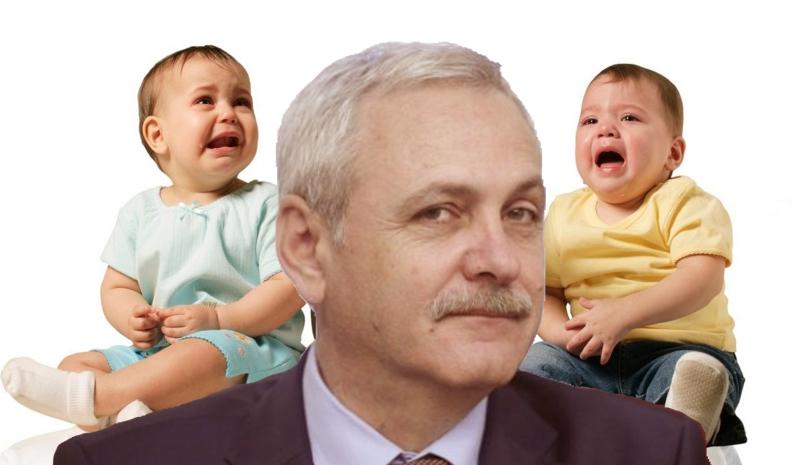 Nu s-a putut abține: Dragnea a furat alocațiile tuturor copiilor din România!