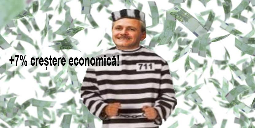 Nici nu l-au săltat pe Dragnea și ni s-a mărit creșterea economică!