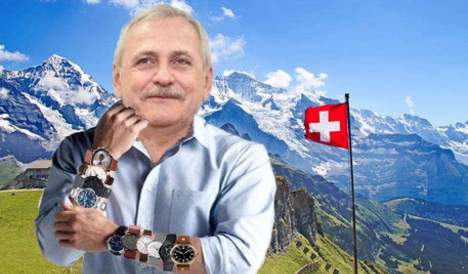 Dezastru în Elveția după vizita lui Dragnea: au dispărut toate ceasurile!