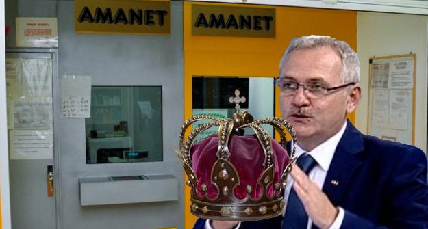 Țeapă! Dragnea a ajuns cu coroana regală la amanet și i-au spus că e contrafăcută!