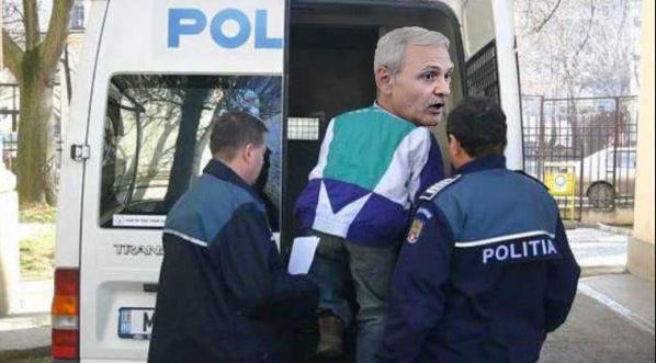 O ambulanță cu scris albastru l-a răpit pe Dragnea!