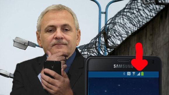 Semn rău: Lui Dragnea i-au apărut dungi pe telefonul mobil!