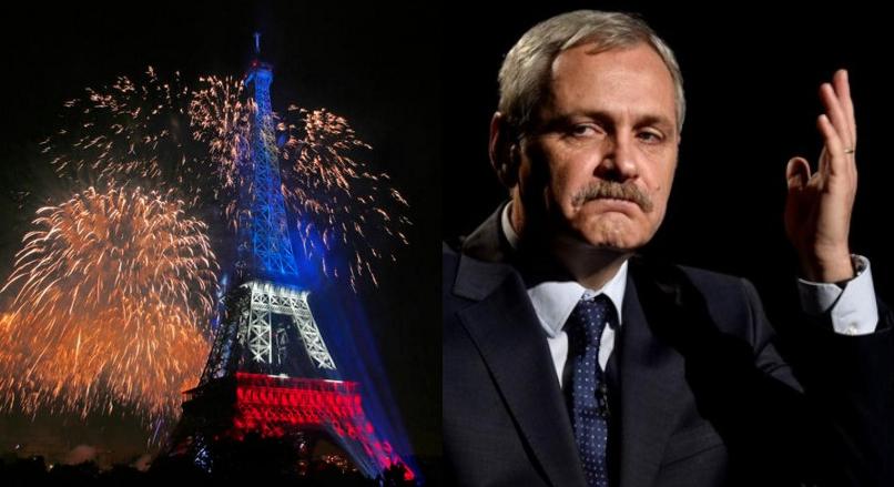 La mulți ani, Franța! Notre poule dans votre cour, Dragnea!