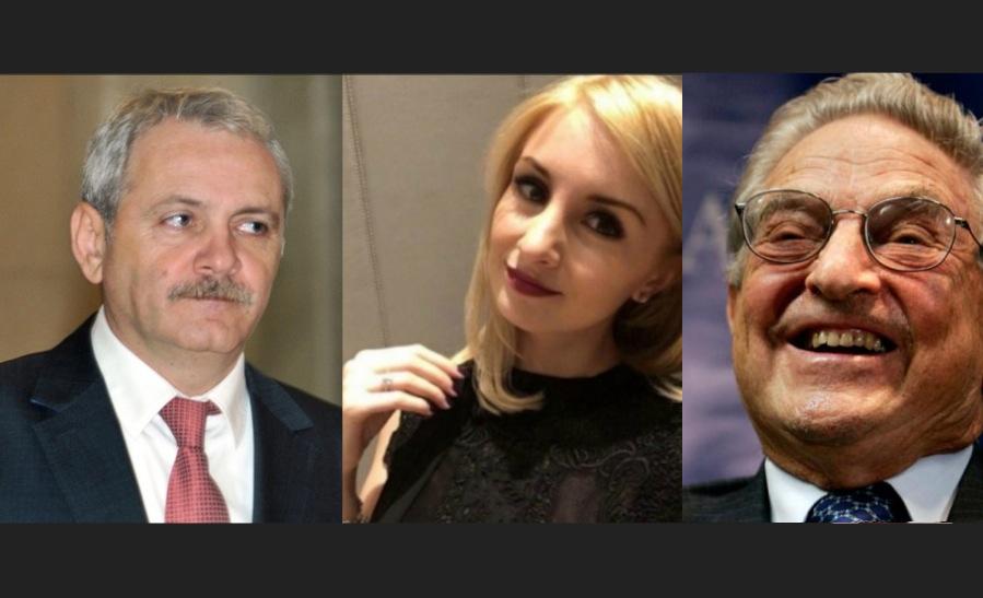 Alertă! Gagica lui Dragnea a fugit cu Soros!