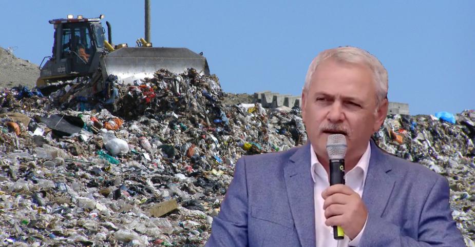Dragnea a stabilit locul următorului miting PSD: groapa de gunoi Glina!