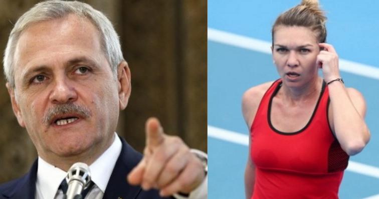 Dragnea cere înlocuirea Simonei Halep cu o secretară de încredere din Teleorman!
