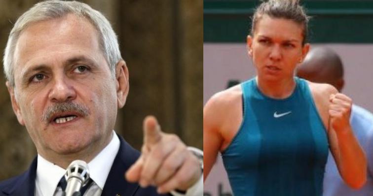 Dragnea o amenință pe Halep că o dă afară de la Roland Garros dacă nu vine la mitingul PSD!