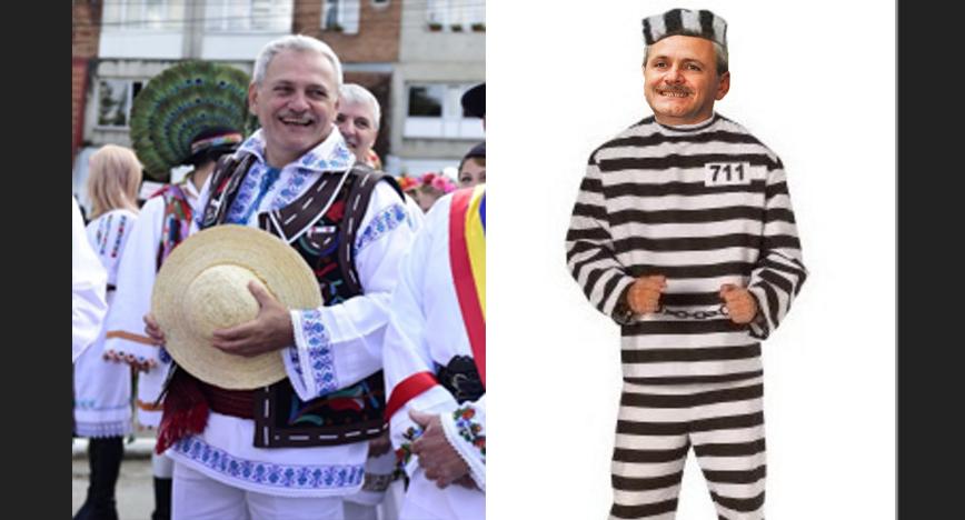 După ce s-a îmbrăcat în costum popular din Teleorman, Dragnea va purta și costumul popular din Jilava