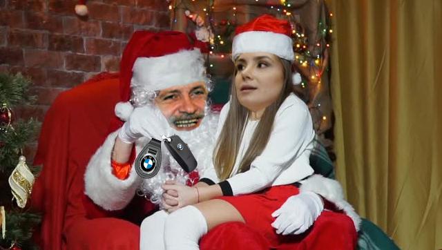 Irinuca nu crede în Moș Crăciun. La ea vine Moș Cariat!