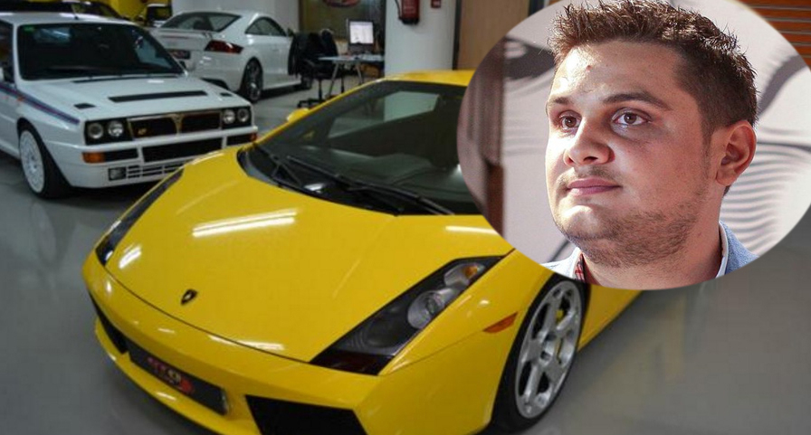 Fiul lui Dragnea, prins conducând un Lamborghini cu 320 km/h. Voi tot cu CFR-ul oprit între stații, săracilor?