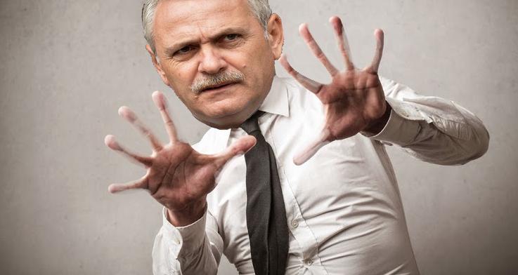 Pentru că nu a mai furat nimic de ieri dimineață, lui Dragnea au început să i se atrofieze mâinile!
