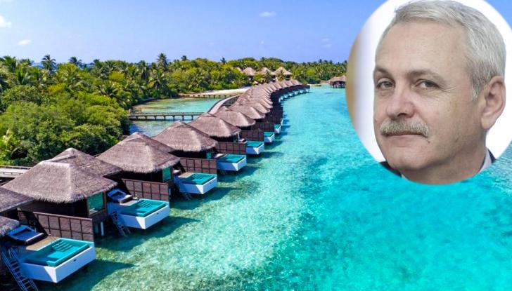 Dragnea va sta toată luna ianuarie în Maldive, să se gândească la românila 1000 de euro pe noapte