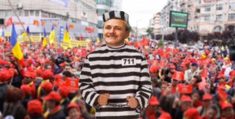 """Mitingul PSD de la Iași va avea sloganul """"Alălturi de Dragnea"""". Păi încap 40.000 la Jilava?"""