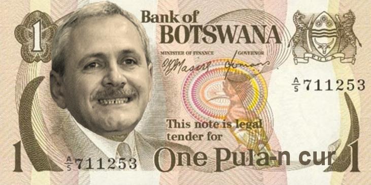 One Pula-n c_r, bancnota oficială a celei mai mari creșteri economice din istorie