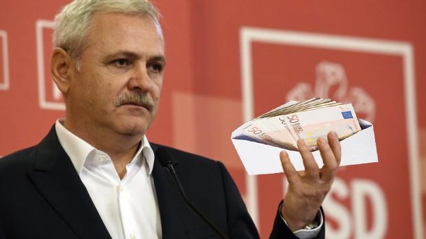"""Dragnea: """"Cum să crească euro? Noi la PSD tot gratis îl primim, în plic!"""""""