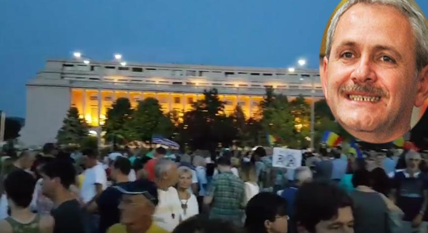 """Dragnea: """"Aș merge și eu la protest, dar trebuie să mă culc că mâine furăm devreme!"""""""