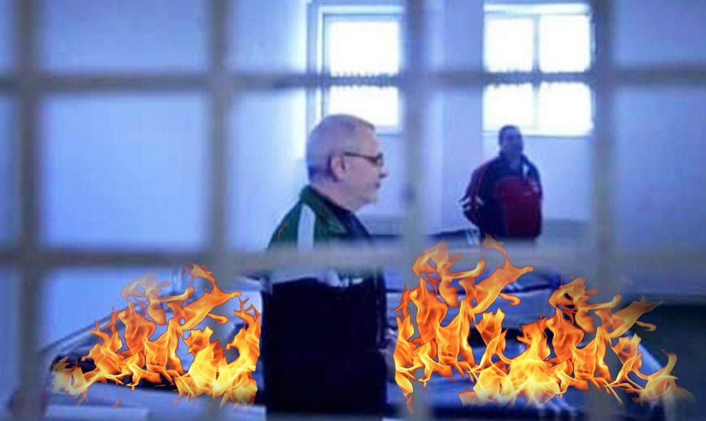 Incendiu la Rahova!Dragnea a dat foc la saltele în semn de protestcănu e lăsat săvoteze în Diaspora, la Fortaleza!