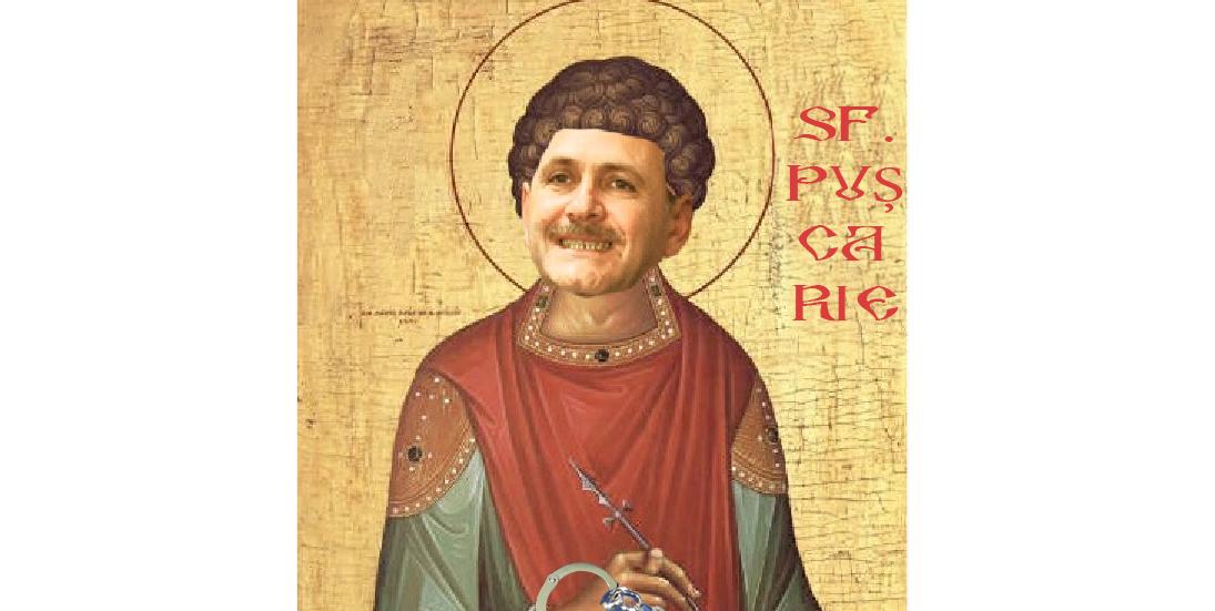 Mâine e  Sfântul Pușcarie, făcătorul cu executare
