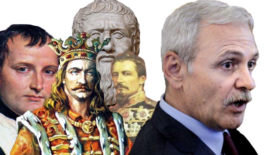"""Dragnea: """"4 oameni au încercat să mă asasineze: Napoleon, Ștefan cel Mare, Platon și Cuza!"""""""