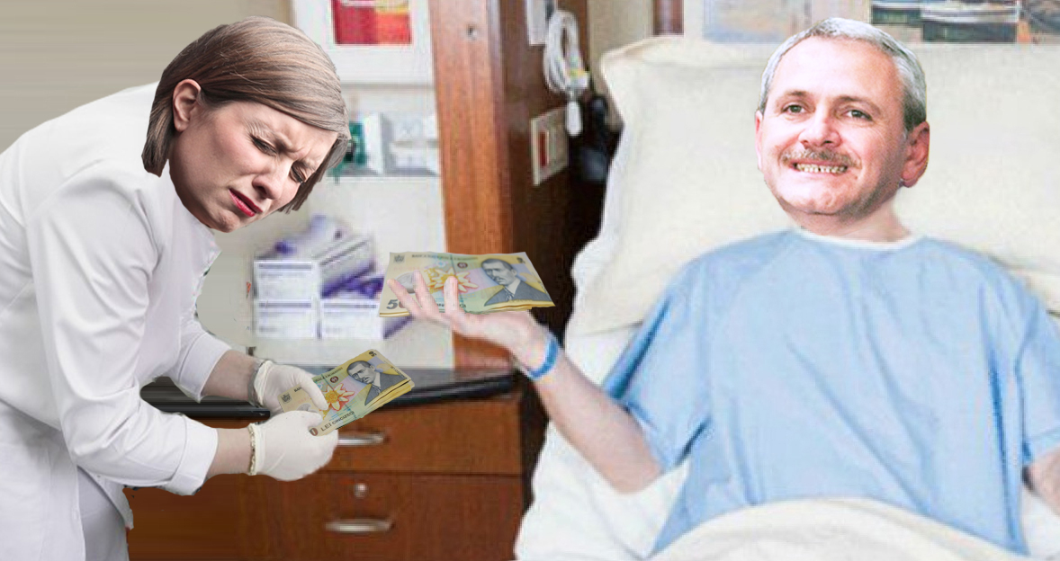 Premieră în lumea medicală:Dragnea a reușit să ia șpagă de la asistente, în loc să dea!