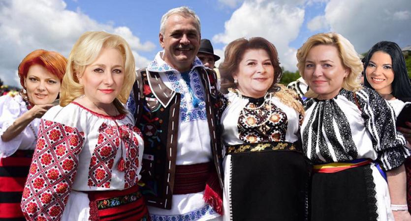 PSD - Partidul Slugilor lui Dragnea!