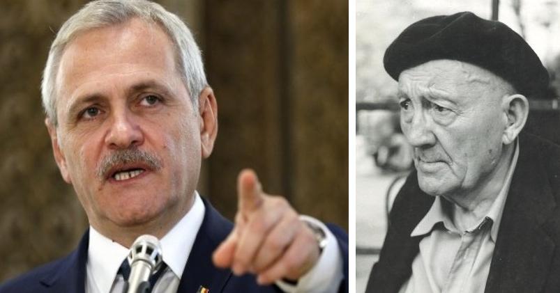"""Dragnea cere arestarea lui Țuțea pentru afirmația defăimătoare """"Am stat 13 ani în temniță pentru un popor de idioți!"""""""