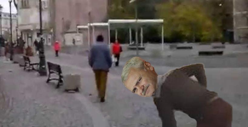 Dragnea a fost văzut târându-se spre Înalta Curte pentru a-și dovedi nevinovăția!