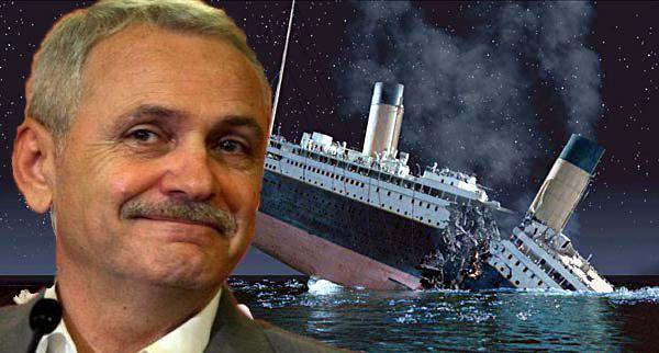 Să te duci la fund în aceeași zi cu Titanicul - asta înseamnă să fii mafiot!