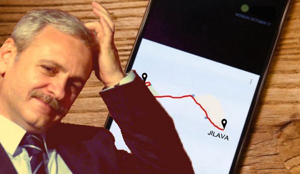 """Dragnea are o aplicație care, la comanda """"Acasă"""", îi indică cel mai scurt traseu spre Jilava!"""